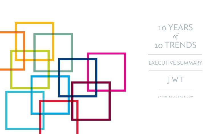 10 años de 10 tendencias.  JWT